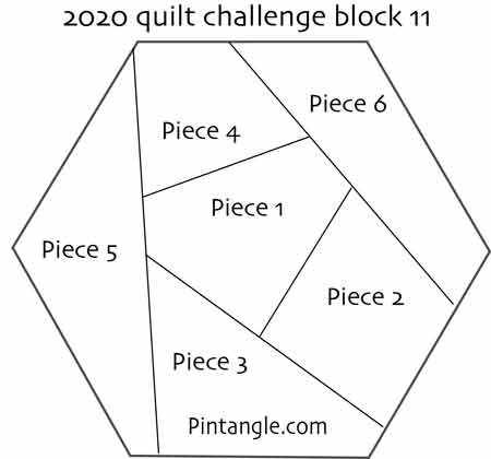 2020 crazy quilt block 11 pattern