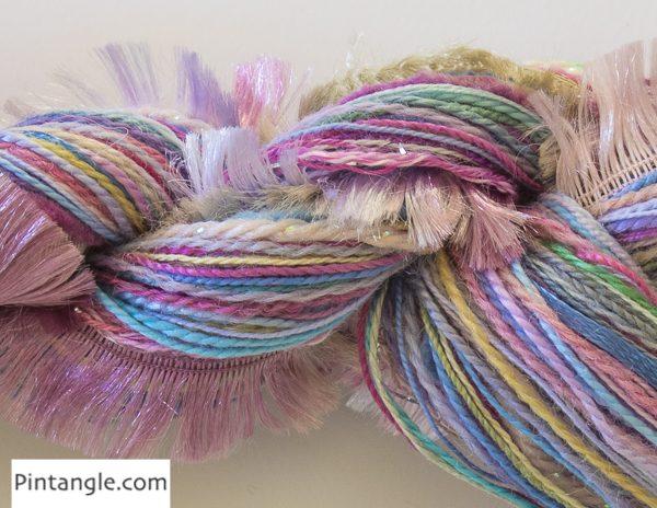 CandyFloss threads detail