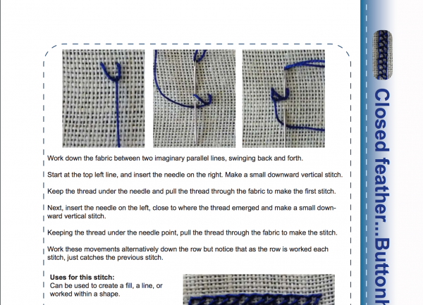 Stitchers worksheets module 5