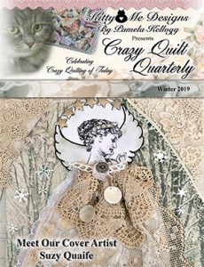 Winter 2019 issue of Crazy Quilt Quarterly cover