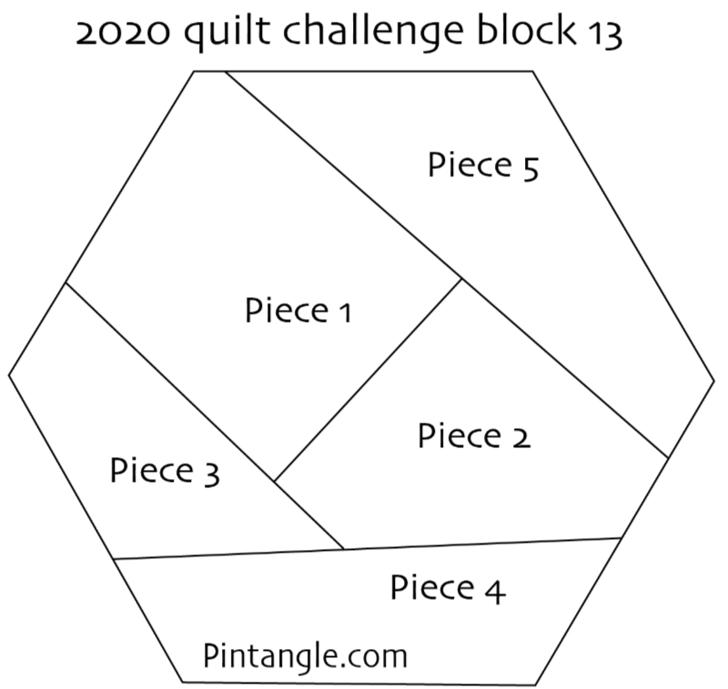 2020 crazy quilt block 13 pattern