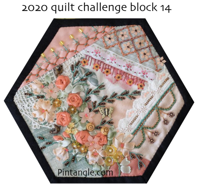 2020 crazy quilt block 14