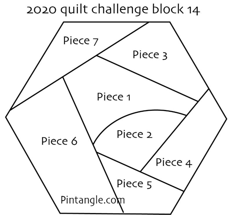 2020 crazy quilt block 14 pattern