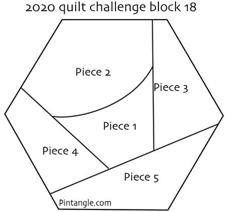 2020 crazy quilt block 18 pattern