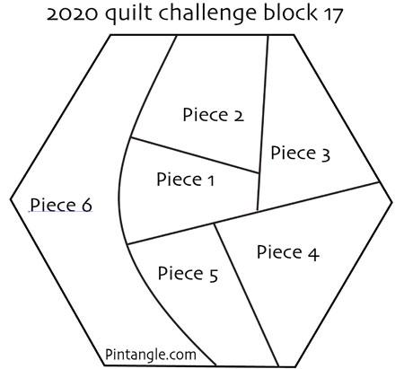 2020 crazy quilt block 17 pattern