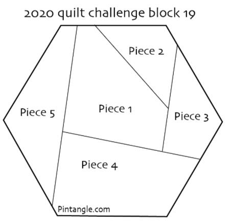 2020 quilt block 19 pattern