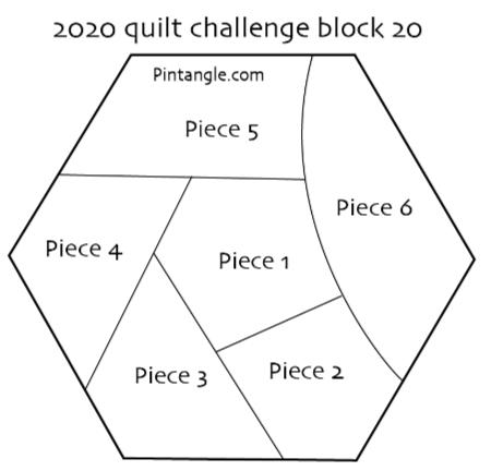 2020 quilt block 20 pattern