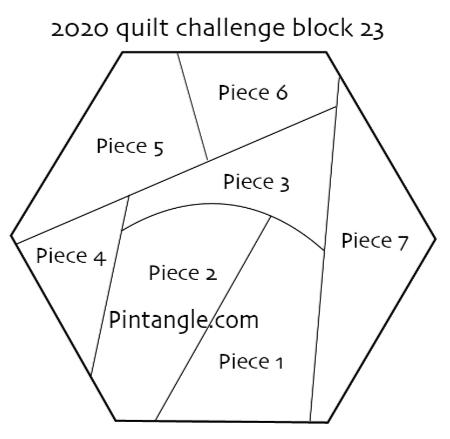 2020 quilt block 23 pattern