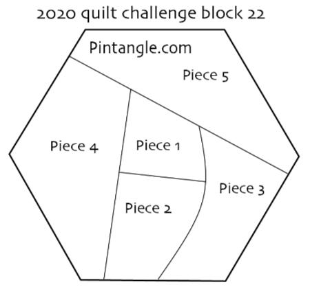 2020 quilt block 22 pattern