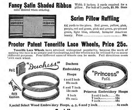 Art Needlework Supplies General Catalog screen
