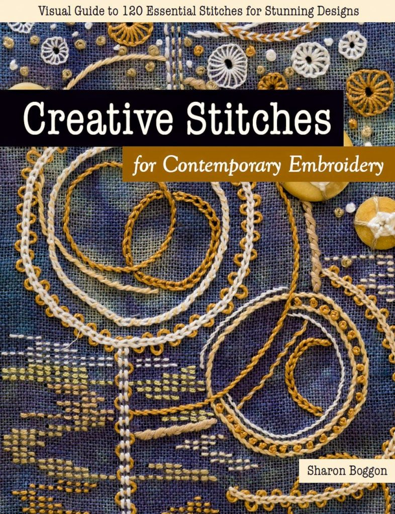 Creative Stitches for Contemporary Embroidery book cover