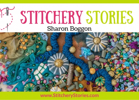 Interviewed for the Stitchery Stories podcast