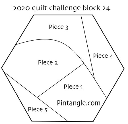 2020 Quilt block 24 pattern