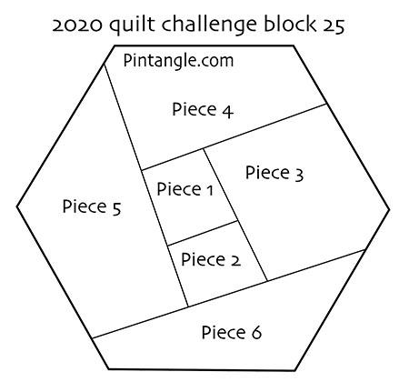 2020 quilt block 25 pattern