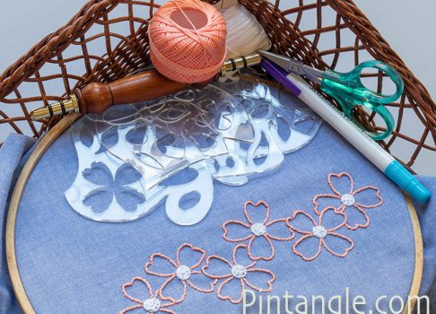 New set of templates on a floral theme available